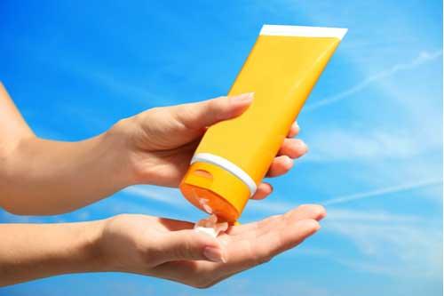 Concept of Arkansas sunscreen recall lawsuit
